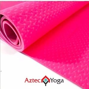 Thick Foam Yoga Exercise Mat Gym Workout Pink